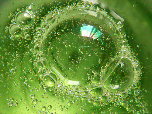 green bubble