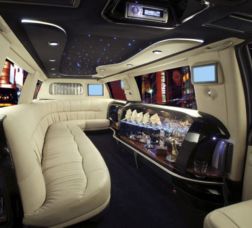 Pimp my limo weirdomatic for Interieur limousine