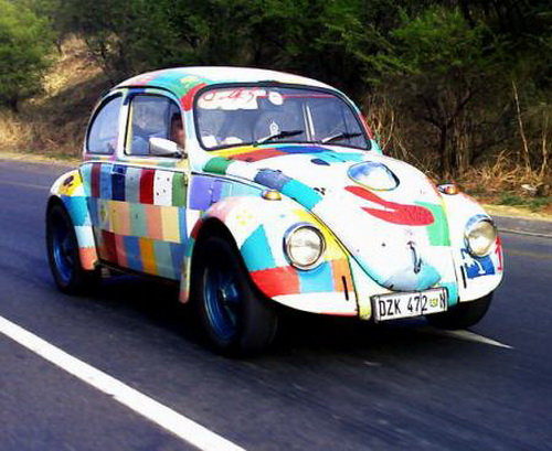 pictures  weird volkswagen beetle weirdomatic