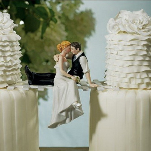 Weddings Funny Cake Toppers Weirdomatic