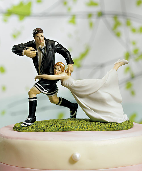 Funny wedding cake toppers weirdomatic funny weddin cake figurine junglespirit Images