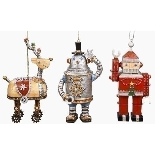 Christmas Vintage Retro Ornaments Weirdomatic