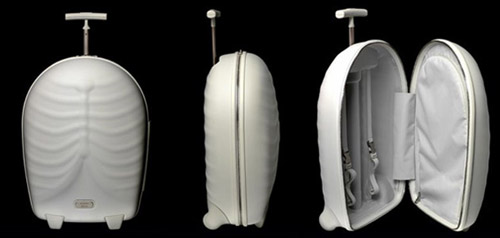 Роскошный багажный скелет в стиле фанк Alexander McQueen