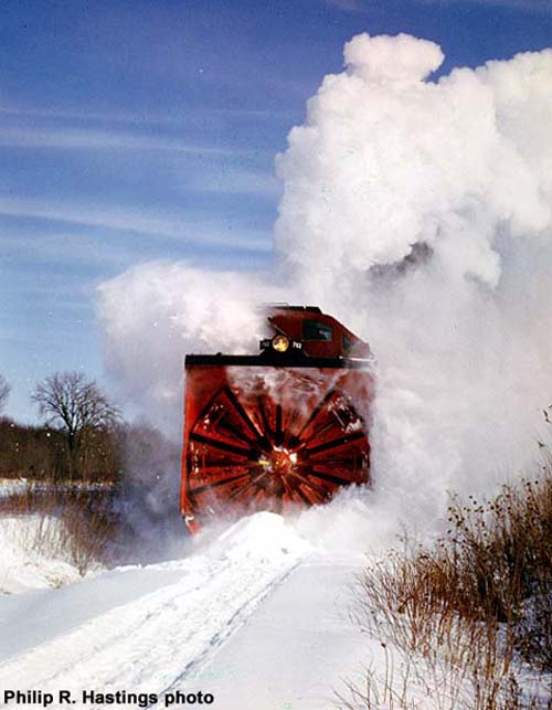 Weird Trains on Railroads - Snow Plow Trains | Weirdomatic
