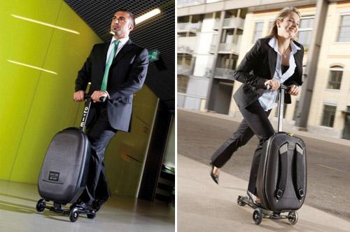 скутер веселье багаж