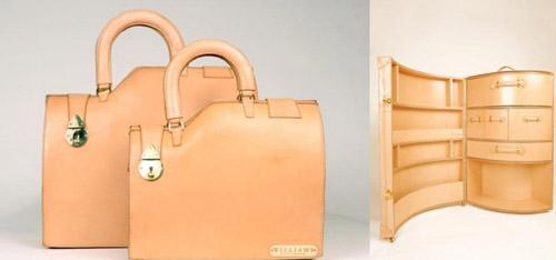 чемоданы странной формы Willliams ручной работы 00
