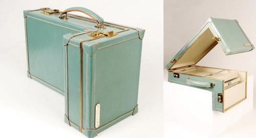 чемоданы странной формы Willliams ручной работы 01