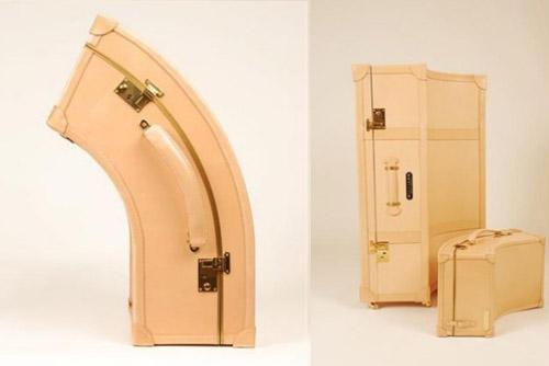 чемоданы странной формы Willliams ручной работы 02