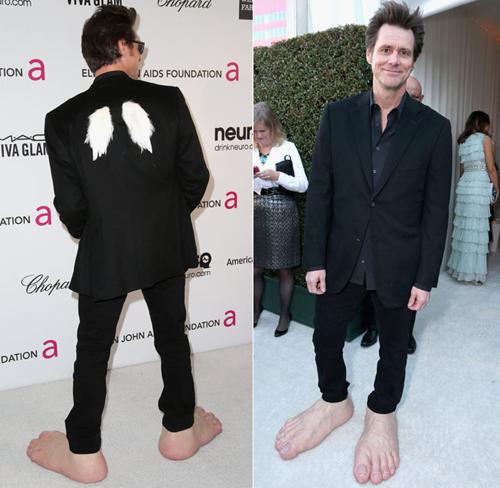 Jim Carrey Oscar 2013 Jim Carrey at t...