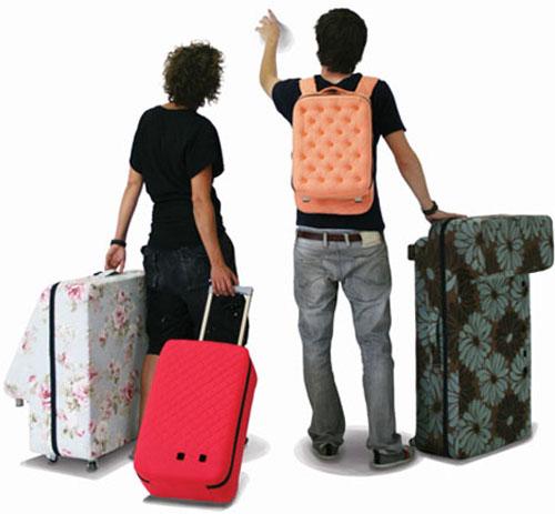трансформируемый багаж в диван