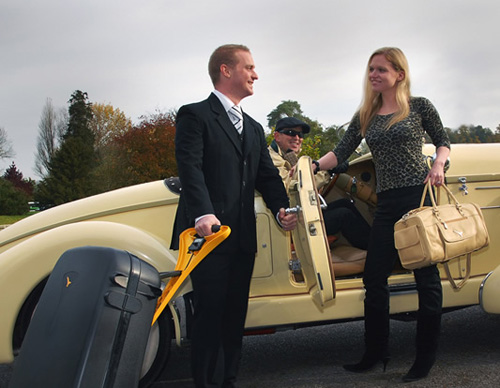 багаж с электроприводом