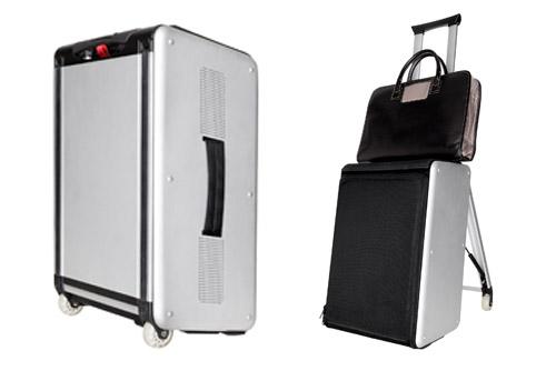 странный багаж с сиденьем