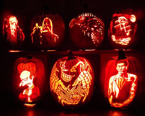 Halloween pumpkins weirdomatic