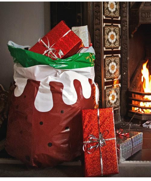 christmas pudding bin bag - Christmas Tree Garbage Bag